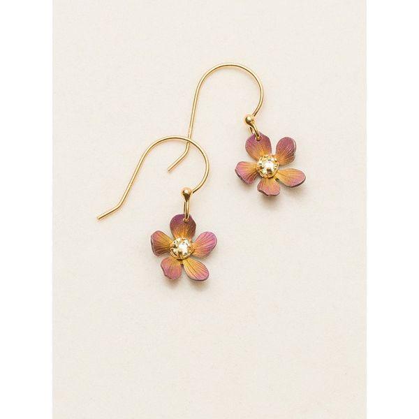 Plumeria Dangle Earrings DJ's Jewelry Woodland, CA