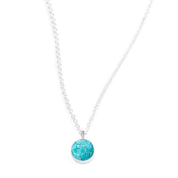 Petal Turquoise Necklace DJ's Jewelry Woodland, CA