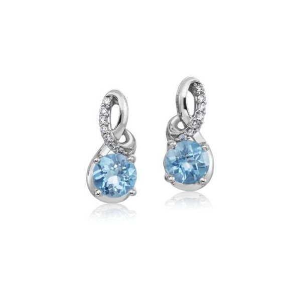 Blue Topaz Earrings DJ's Jewelry Woodland, CA
