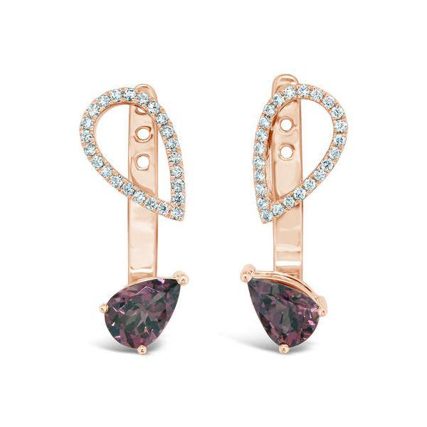 Rhodoliate Garnet Earrings DJ's Jewelry Woodland, CA