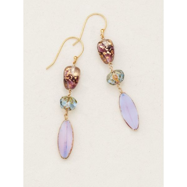 Lavender Morning Glory Earrings DJ's Jewelry Woodland, CA