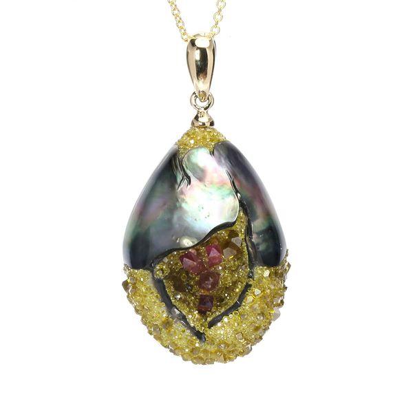 Limited Edition - Geode Tahitian Pearl DJ's Jewelry Woodland, CA