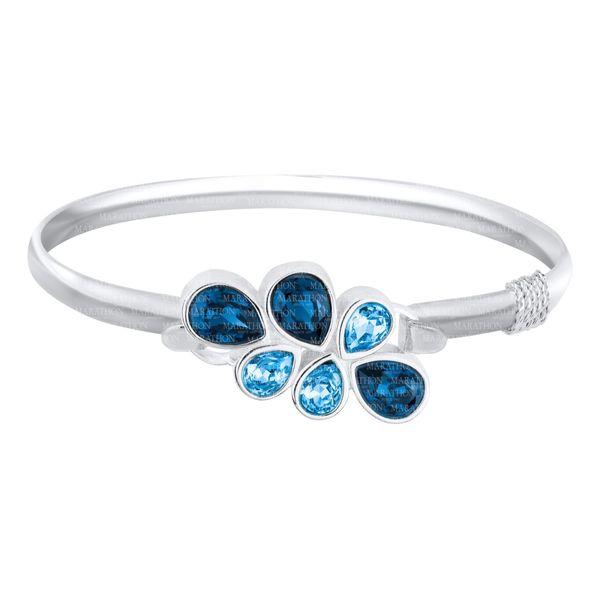 Blue Gem Charm / Clasp Image 2 DJ's Jewelry Woodland, CA