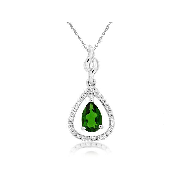 Russalite and Diamond Necklace Don's Jewelry & Design Washington, IA