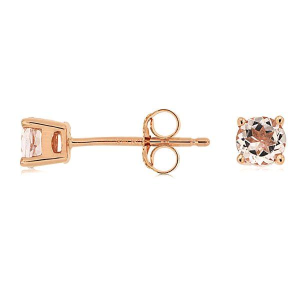 Morganite Stud Earrings Don's Jewelry & Design Washington, IA