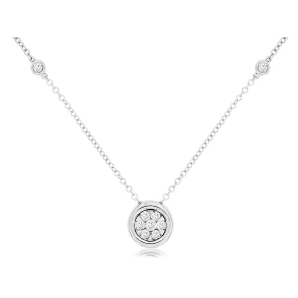14kt White Gold Diamond Necklace Don's Jewelry & Design Washington, IA
