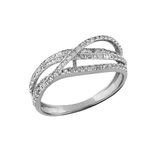 14kt White Gold Diamond Ring Don's Jewelry & Design Washington, IA