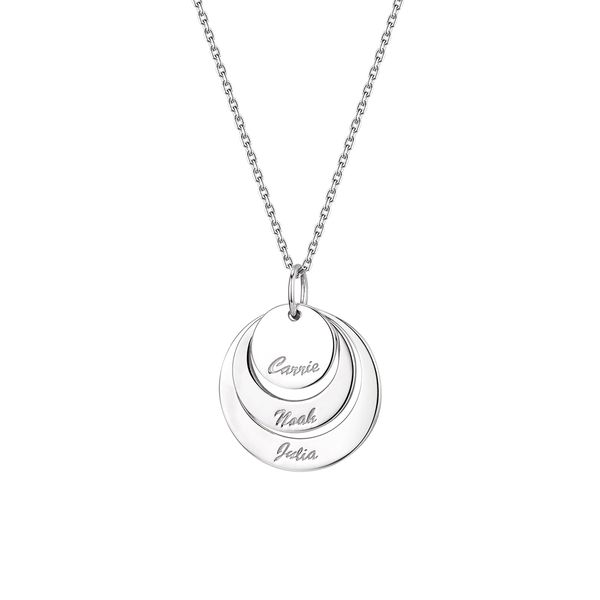 Sterling Silver Name Necklace Don's Jewelry & Design Washington, IA