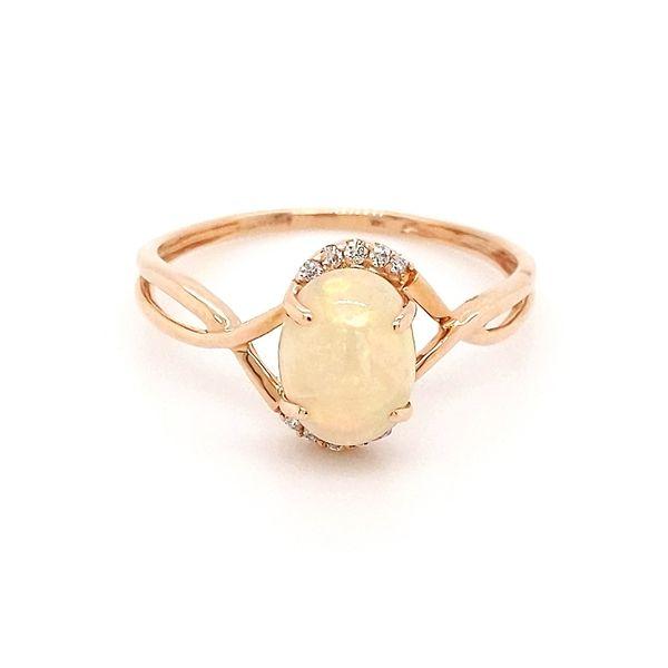 Opal and Diamond Ring Don's Jewelry & Design Washington, IA