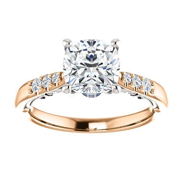 14kt Rose Gold Diamond Engagement Semi-Mount Ring Don's Jewelry & Design Washington, IA