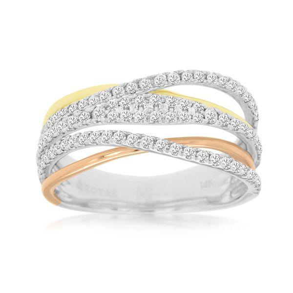 14kt Tri-Color Diamond Ring Don's Jewelry & Design Washington, IA