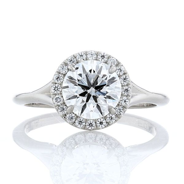 Split Shank Halo Ring