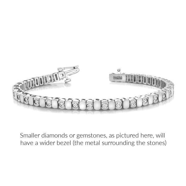Bezel-set-alternating-diamond-white-gold-bracelet