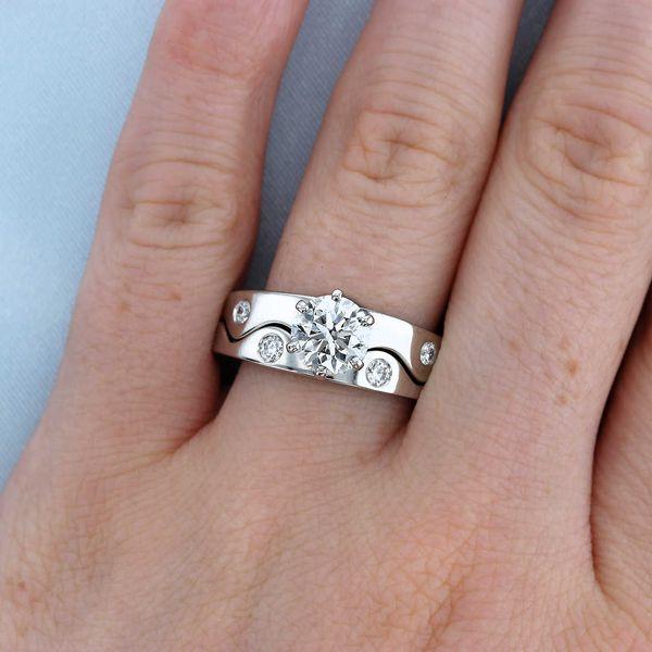 Platinum Puzzle Ring