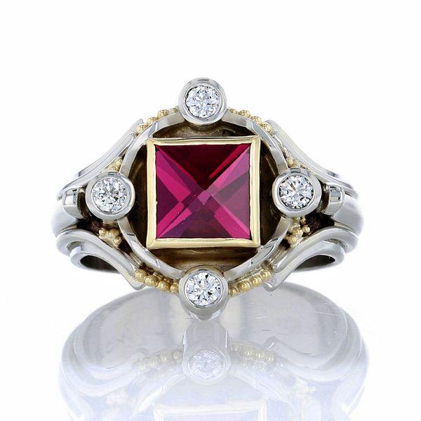 Handmade Garnet Ring