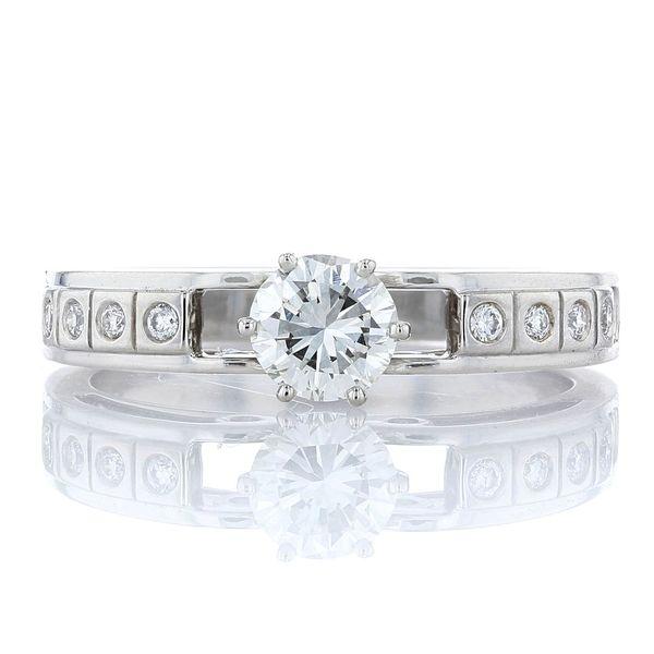 Antique Platinum Engagement Ring