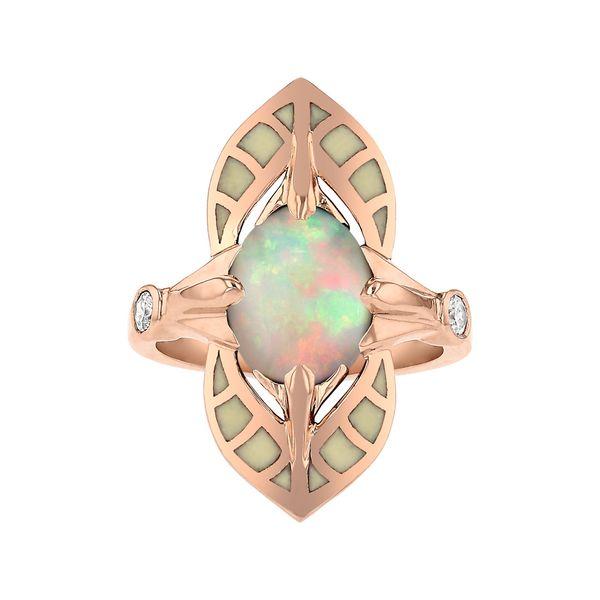 Art Nouveau Opal Ring Fox Fine Jewelry Ventura, CA