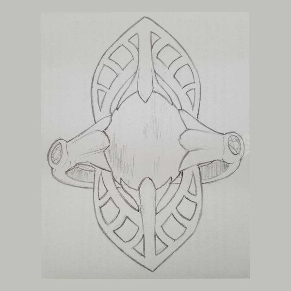 Art-Nouveau-Opal-Ring-Line-Drawing