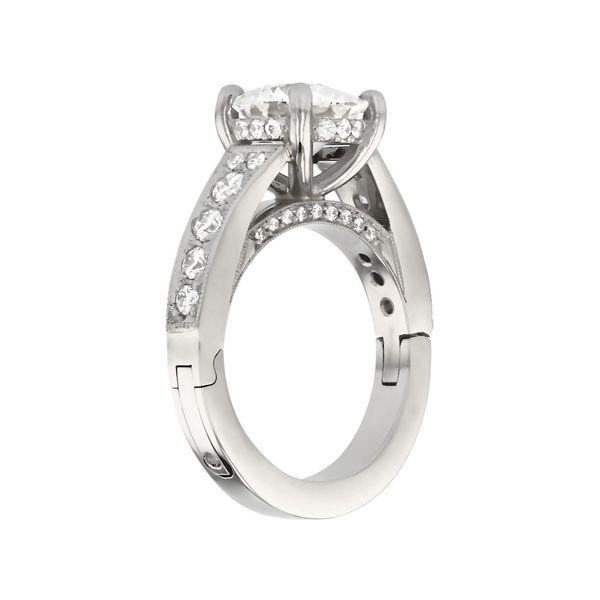 Surprise Diamond Engagement Ring Image 3 Fox Fine Jewelry Ventura, CA