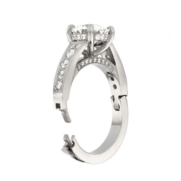 Surprise Diamond Engagement Ring Image 4 Fox Fine Jewelry Ventura, CA