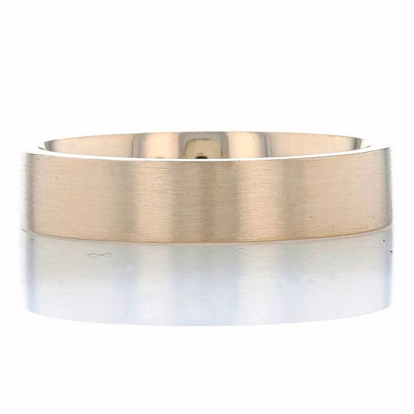 Yellow Gold 5mm Band with Brushed Finish