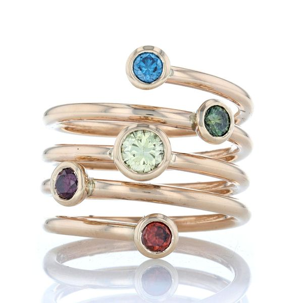 Coiled Mother's Ring