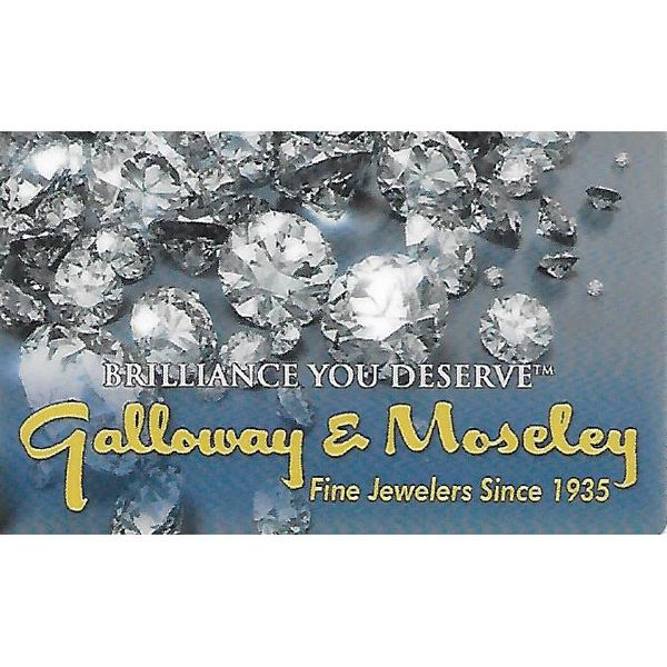 Galloway and Moseley Jewelers Gift Card - $500 Galloway and Moseley, Inc. Sumter, SC