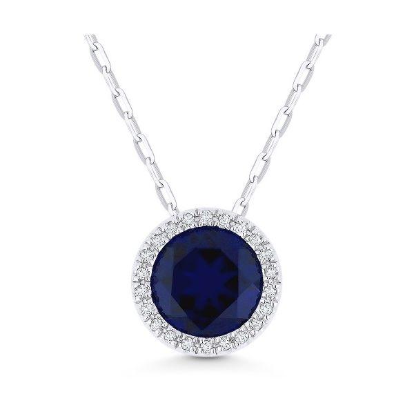 Sapphire Necklace James Gattas Jewelers Memphis, TN