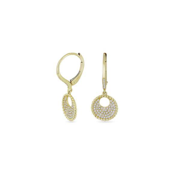 14K Diamond Earrings George Press Jewelers Livingston, NJ