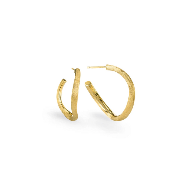 Marco Bicego® Jaipur Collection 18K Yellow Gold Small Hoop Earrings George Press Jewelers Livingston, NJ