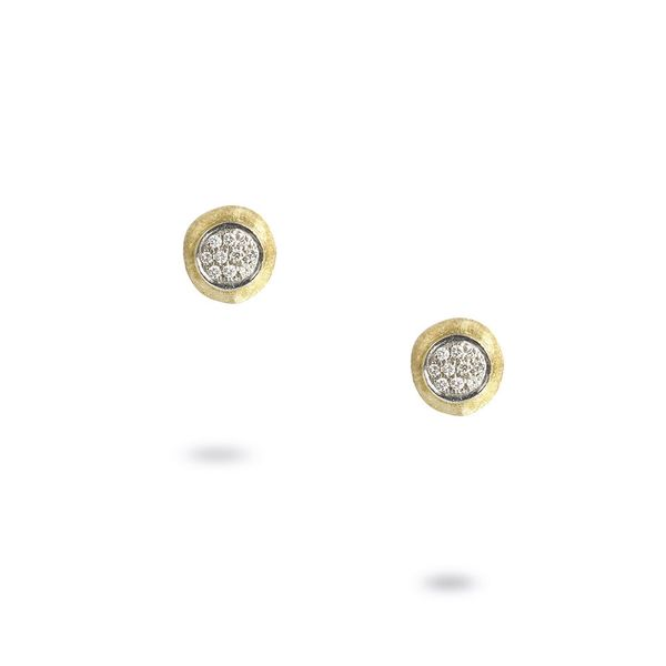 Marco Bicego® 18K Yellow Gold Diamond Circle Stud Earrings George Press Jewelers Livingston, NJ