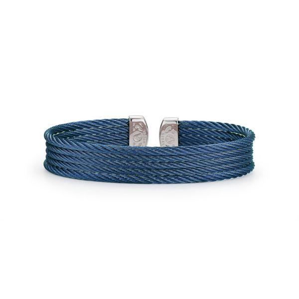 ALOR Blueberry Cable Cuff George Press Jewelers Livingston, NJ