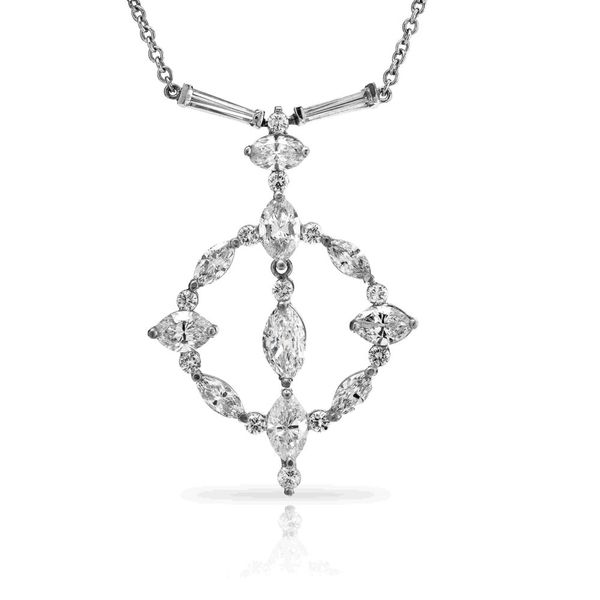George Press One of a Kind Diamond Necklace George Press Jewelers Livingston, NJ