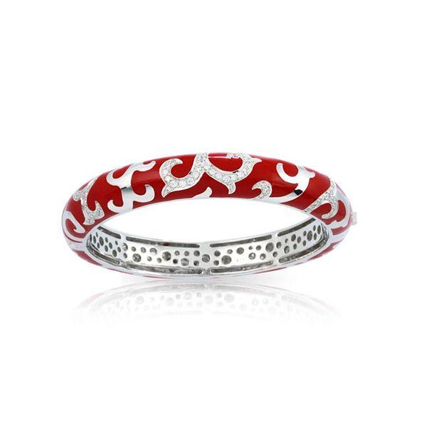 Belle Étoile Royale Bangle in Red George Press Jewelers Livingston, NJ