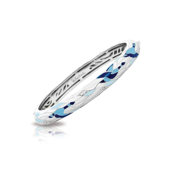 Belle Étoile Migration Bangle in Blue & White George Press Jewelers Livingston, NJ