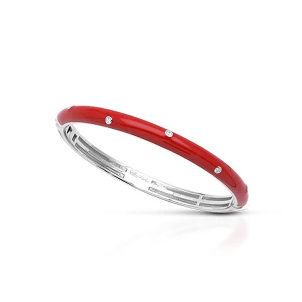 Belle Étoile Staccato Bangle in Red George Press Jewelers Livingston, NJ