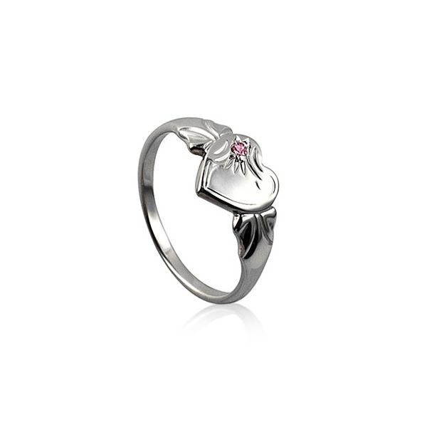 Sterling silver October birthstone signet ring Georgies Fine Jewellery Narooma, New South Wales