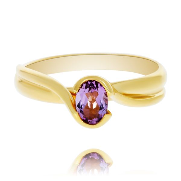 9ct yellow gold Amethyst ring Georgies Fine Jewellery Narooma, New South Wales