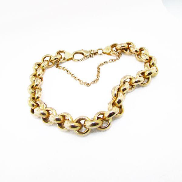 Gold Link Bracelet Graham Jewelers Wayzata, MN