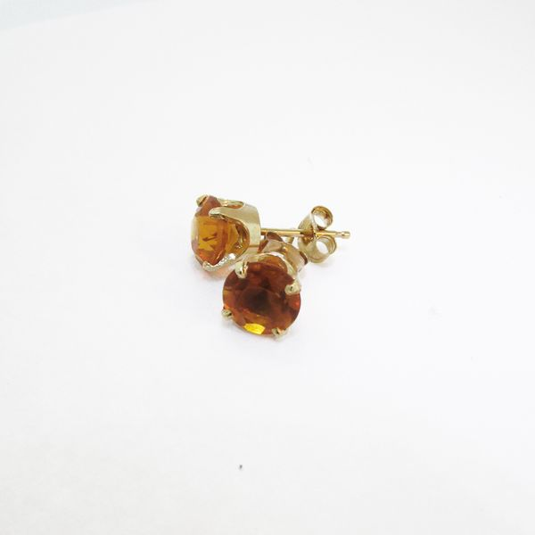 Gold and Citrine Stud Earrings    Graham Jewelers Wayzata, MN