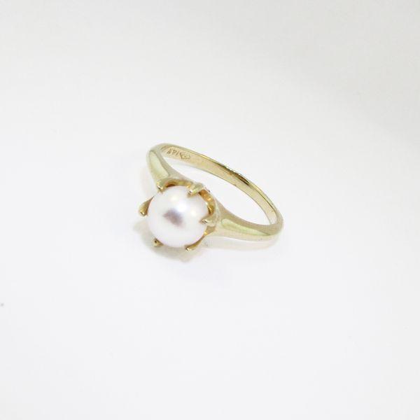 Yellow Gold Pearl Ring Graham Jewelers Wayzata, MN