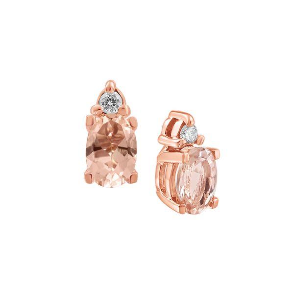 Morganite Earrings Graziella Fine Jewellery Oshawa, ON