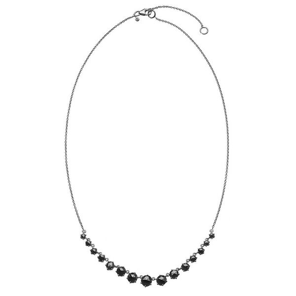 The Alexa Necklace in White Gold Grogan Jewelers Florence, AL