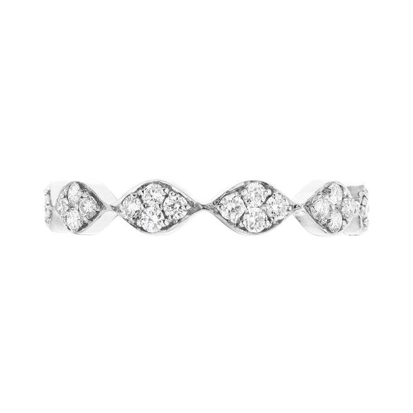 The Darcy with White Diamonds in White Gold Grogan Jewelers Florence, AL