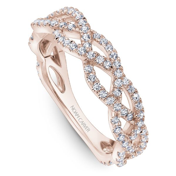 A Noam Carver Stackable in 18K Rose Gold with 108 Round Diamonds Grogan Jewelers Florence, AL