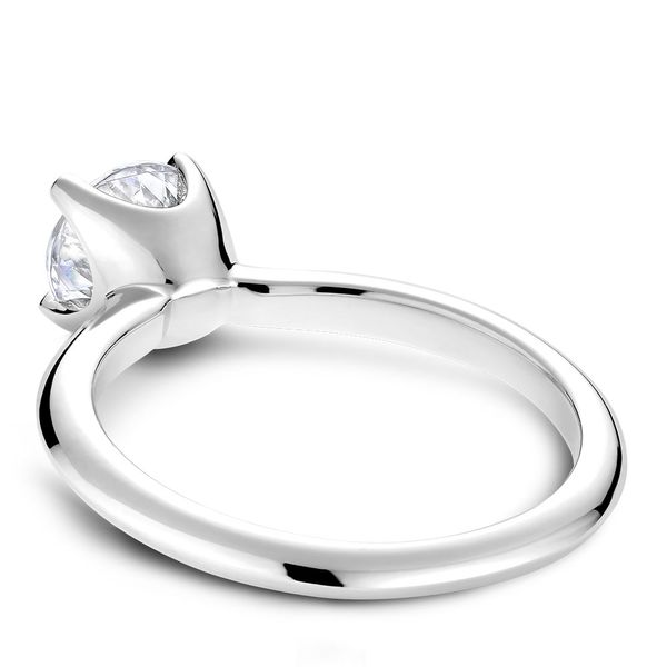 A Noam Carver Engagement Ring in 14K White Gold Image 4 Grogan Jewelers Florence, AL
