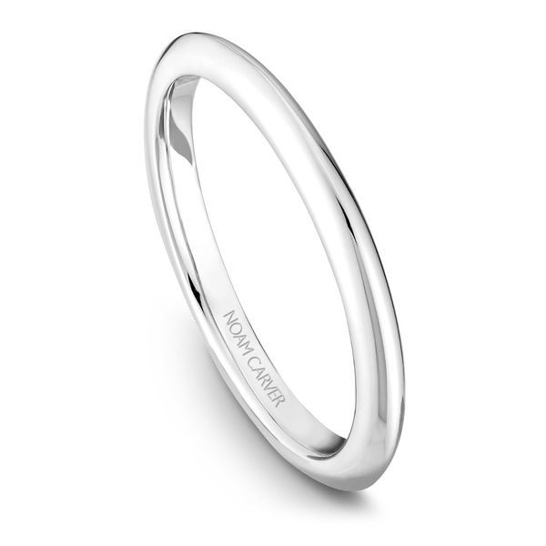 A Noam Carver Engagement Ring in 14K White Gold Image 5 Grogan Jewelers Florence, AL