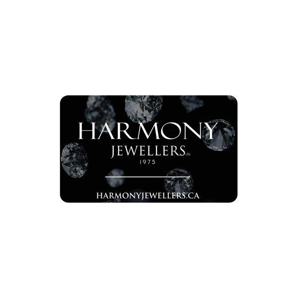 Gift Card  Harmony Jewellers Grimsby, ON