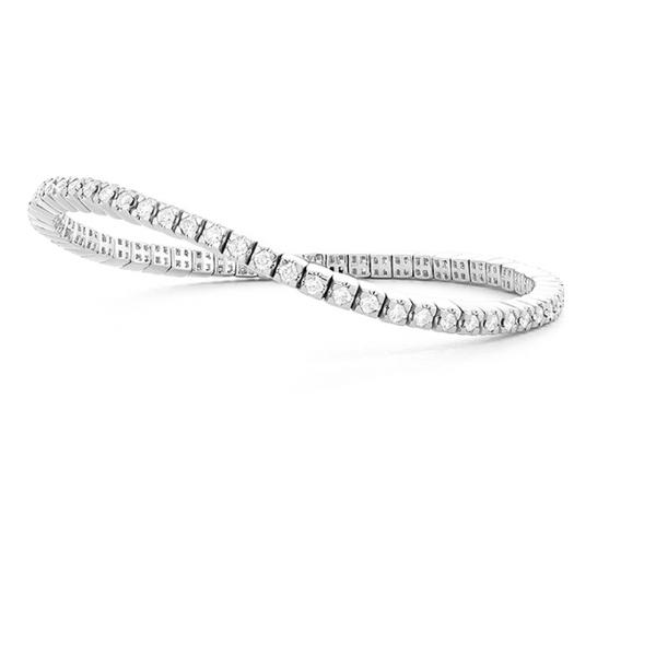 14kt White Gold Expandable Tennis Bracelet Holtan's Jewelry Winona, MN