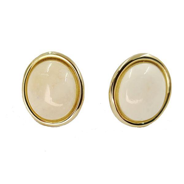Coral-stud-earrings